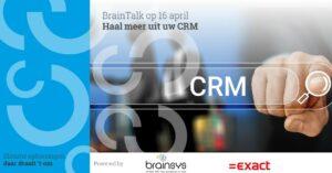 BrainTalk haal meer uit Synergy CRM
