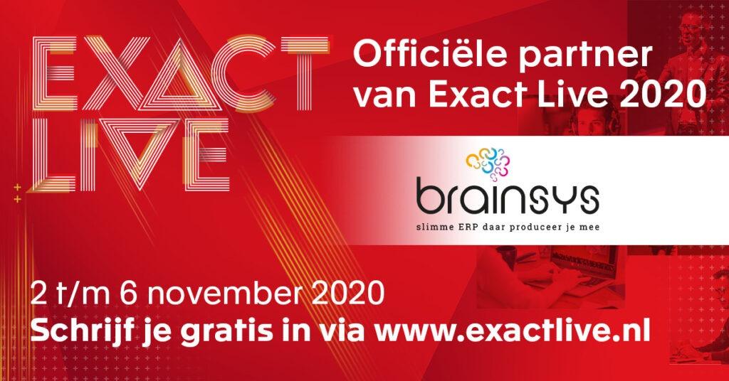 BrainSys sponsor ExactLiv