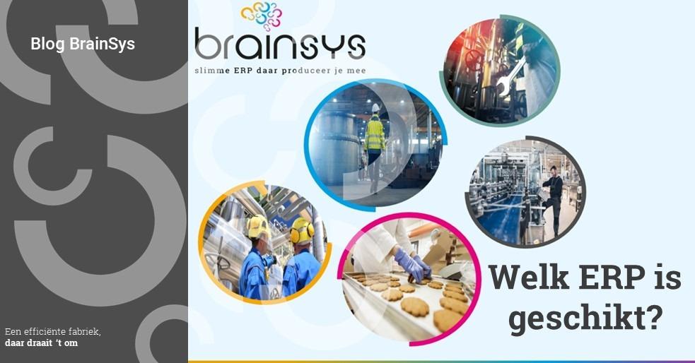 blog BrainSys: welk ERP is geschikt?