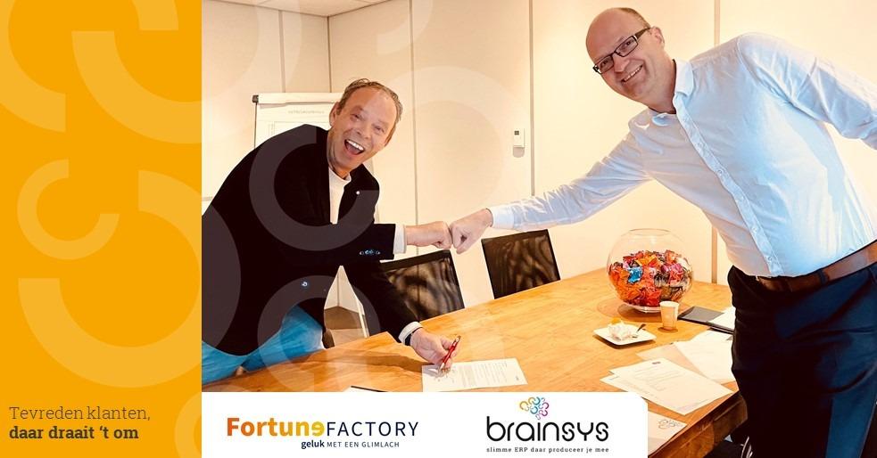 Samenwerking Fortune Factory met BrainSys