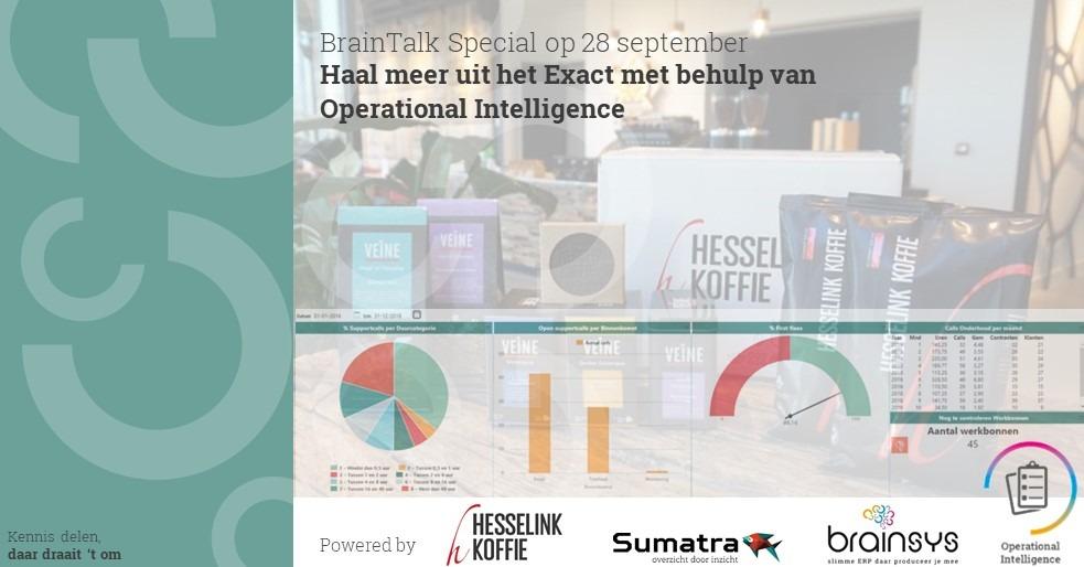 BrainTalk Haal meer uit Exact met behulp van Sumatra